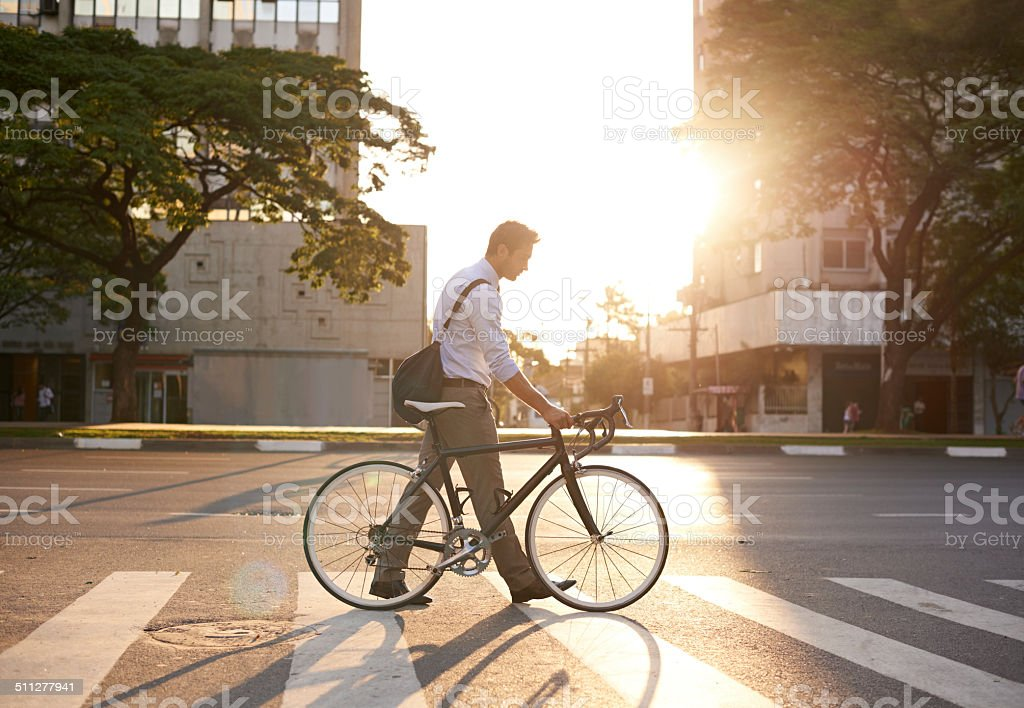 The best way to travel stock photo