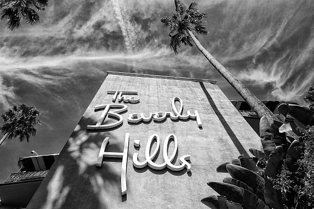 The Beverly Hills Hotel stock photo