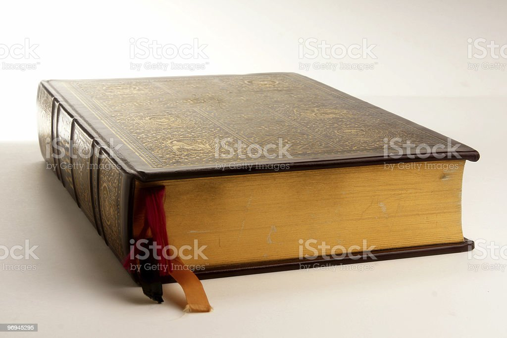 The Bible at home royalty-free stock photo