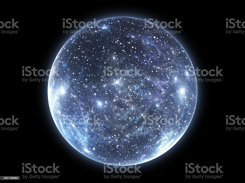 The Big Bang and the Expansion of the Universe stock photo