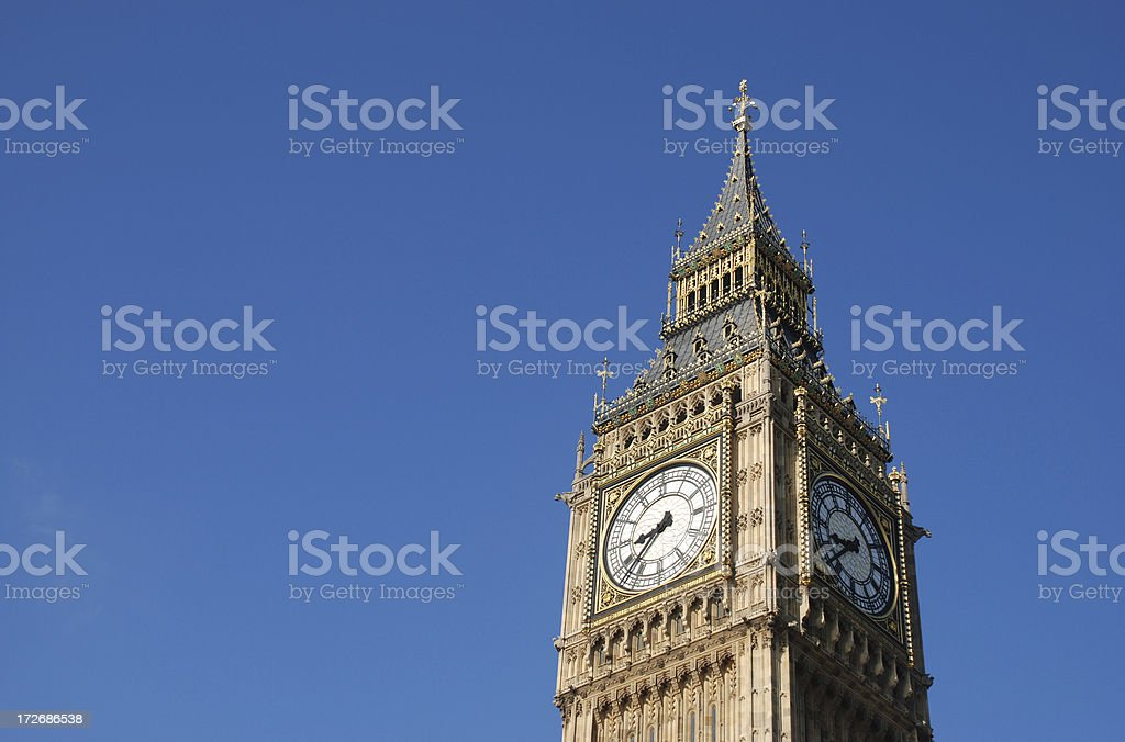 The Big Ben close up royalty-free stock photo