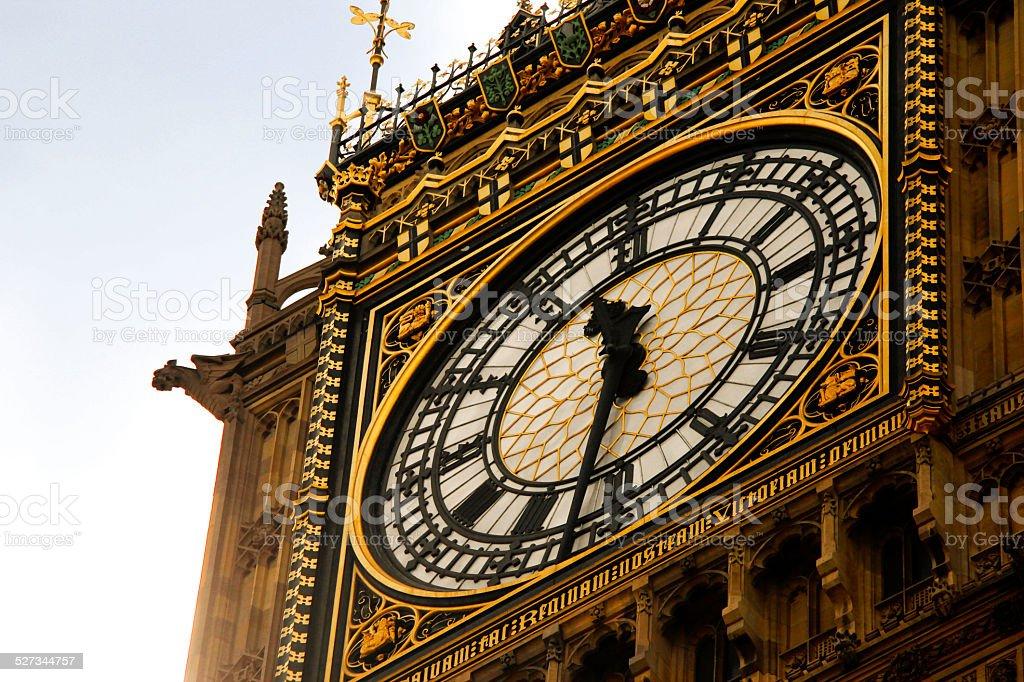 The Big Ben watch stock photo