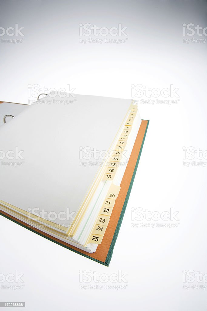 The big book royalty-free stock photo