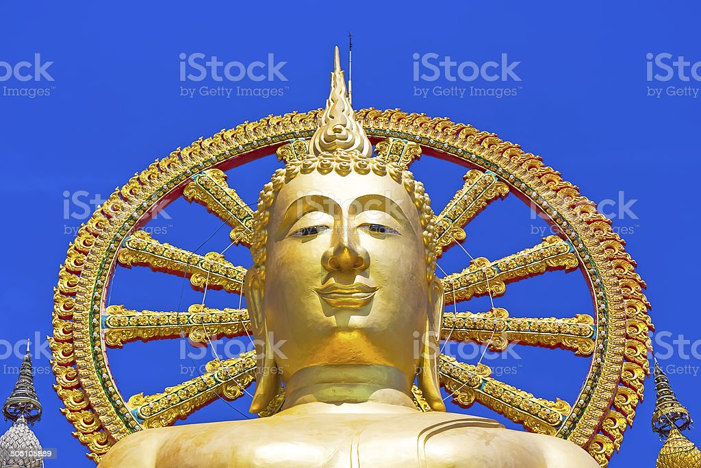 the big buddha temple at Koh Samui, Thailand royalty-free stock photo