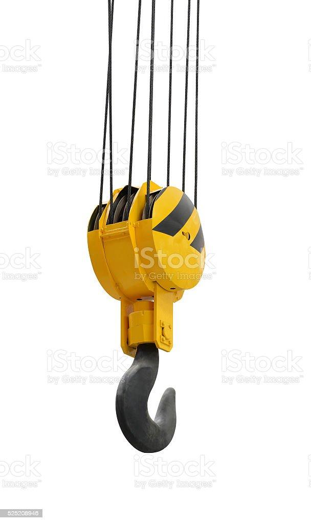 The big lifting hook stock photo