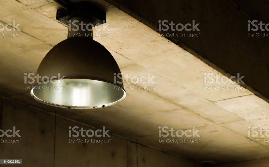 The big spotlight cover. stock photo