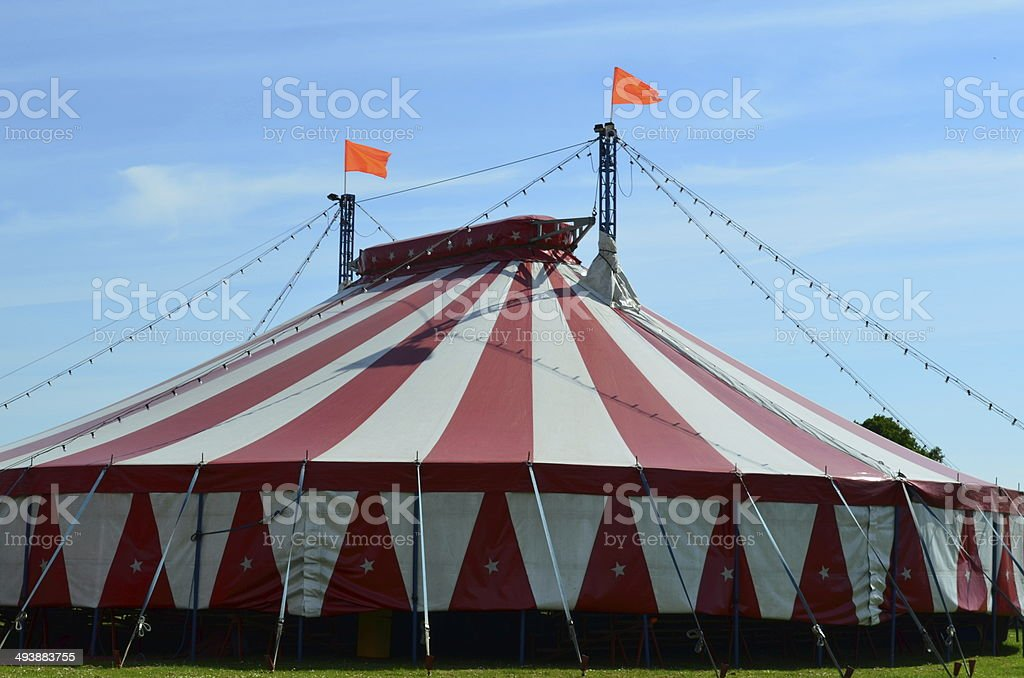 The Big Top. stock photo