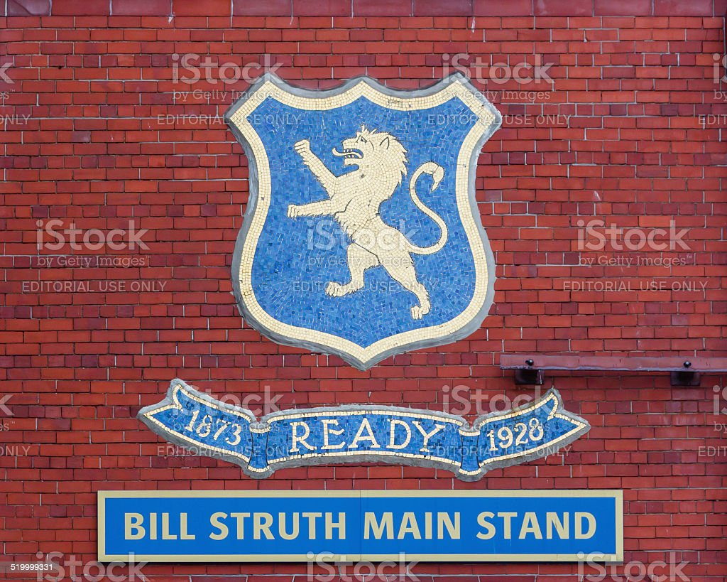 The Bill Struth Main Stand stock photo