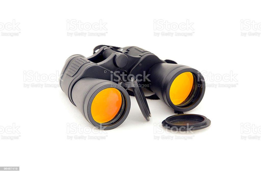 The binocular royalty-free stock photo