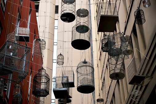 The Birdcages in vibrant Angel Place laneways precinct in the heart of Sydney.