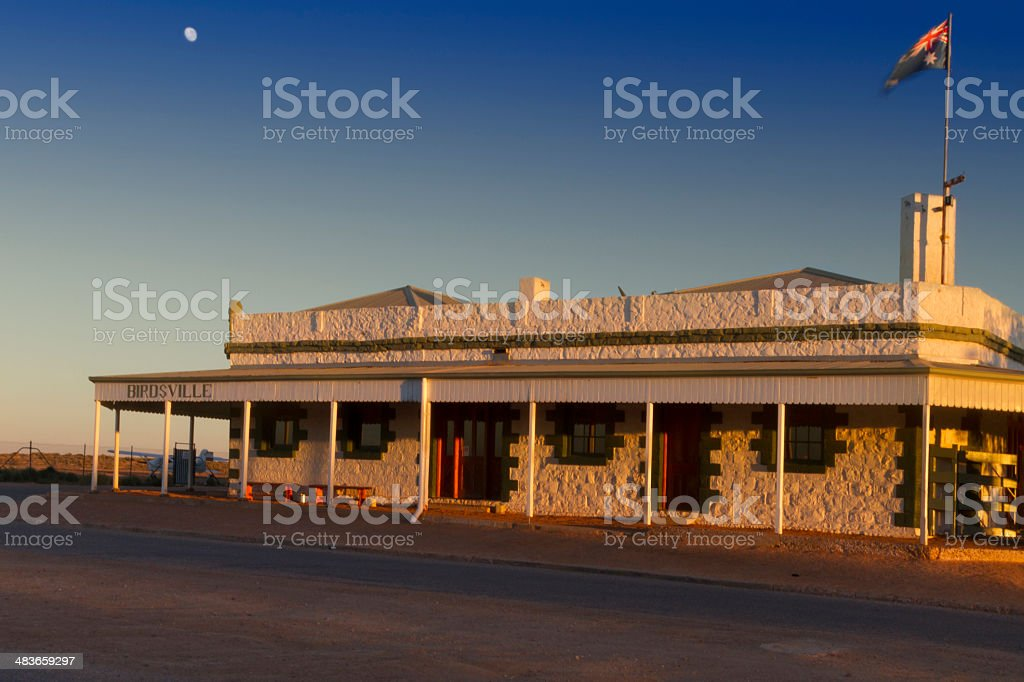 The Birdsville Pub. stock photo
