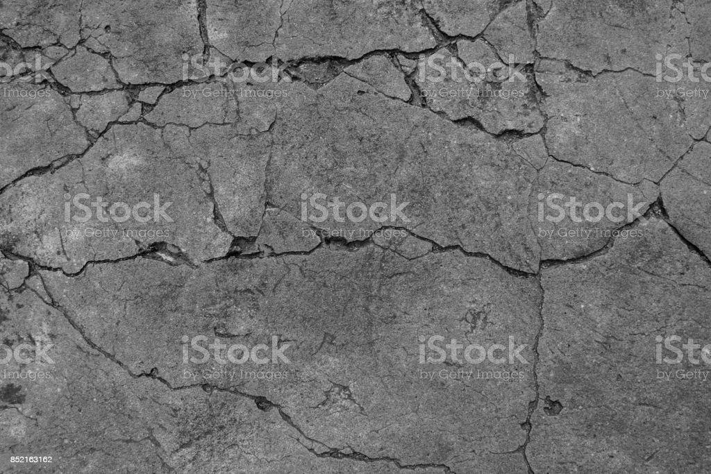 L'arrière-plan de sol ciment noir et blanc - Photo