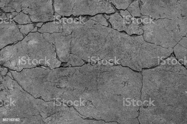 Photo of The black and white cement ground background