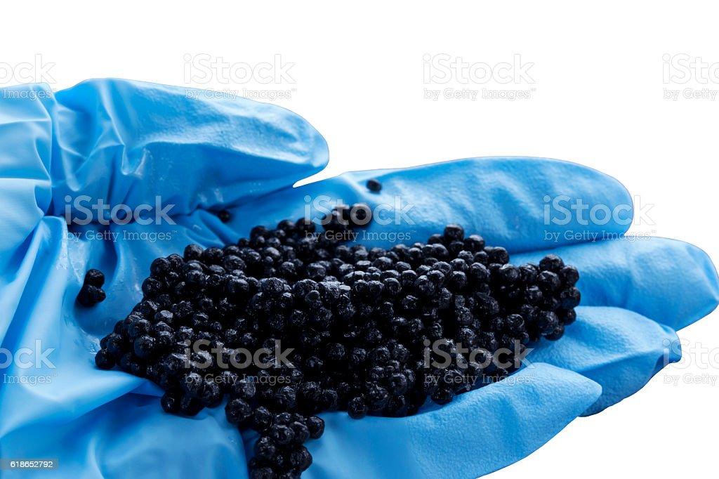 the black caviar stock photo