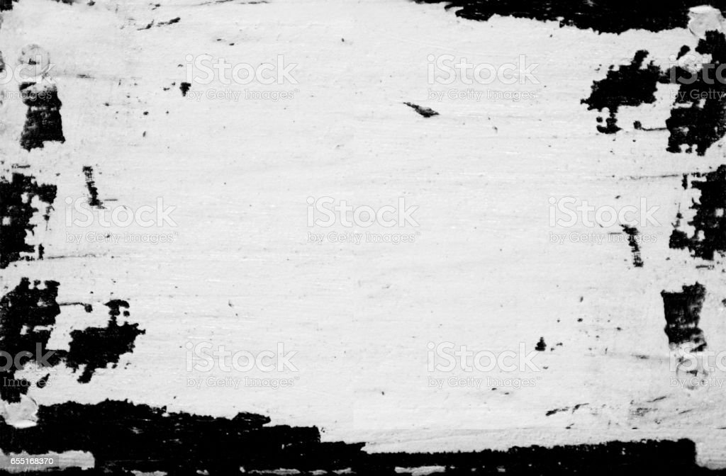 The black paint on a white background. stock photo