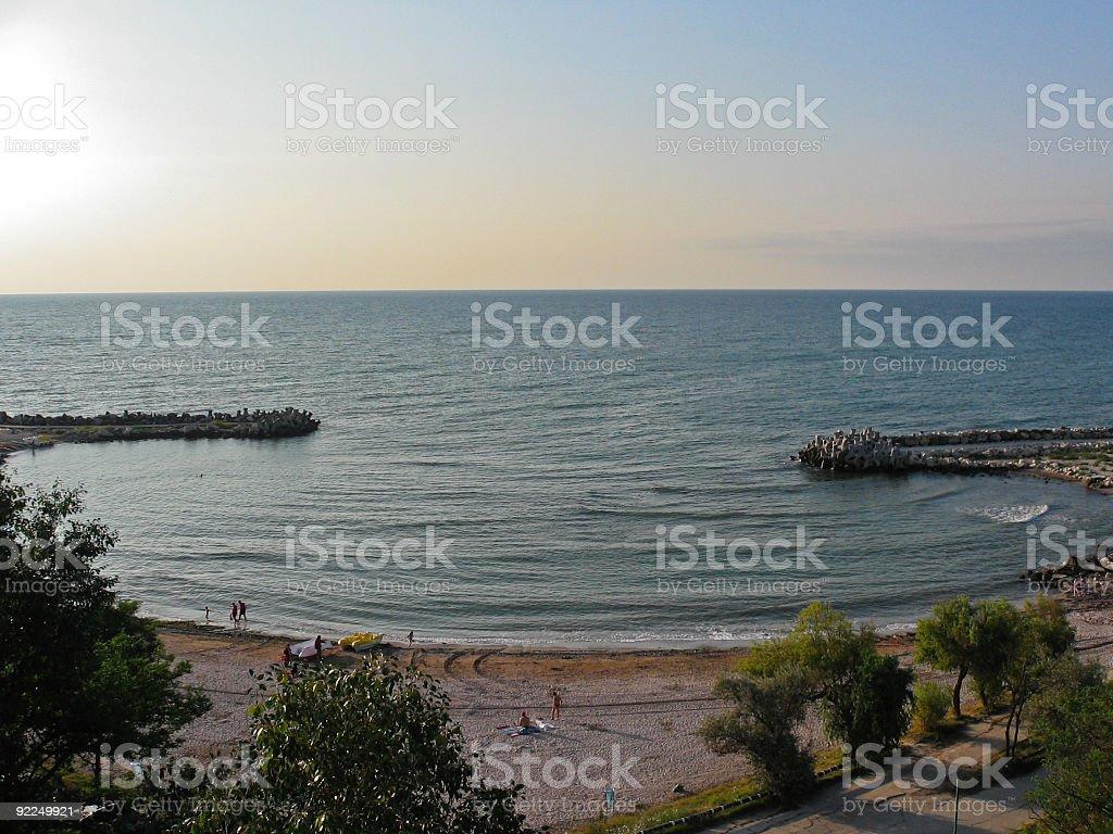 The Black Sea little gulf royalty-free stock photo