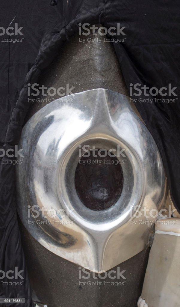 The Black Stone - Hacar-ul Esved stock photo