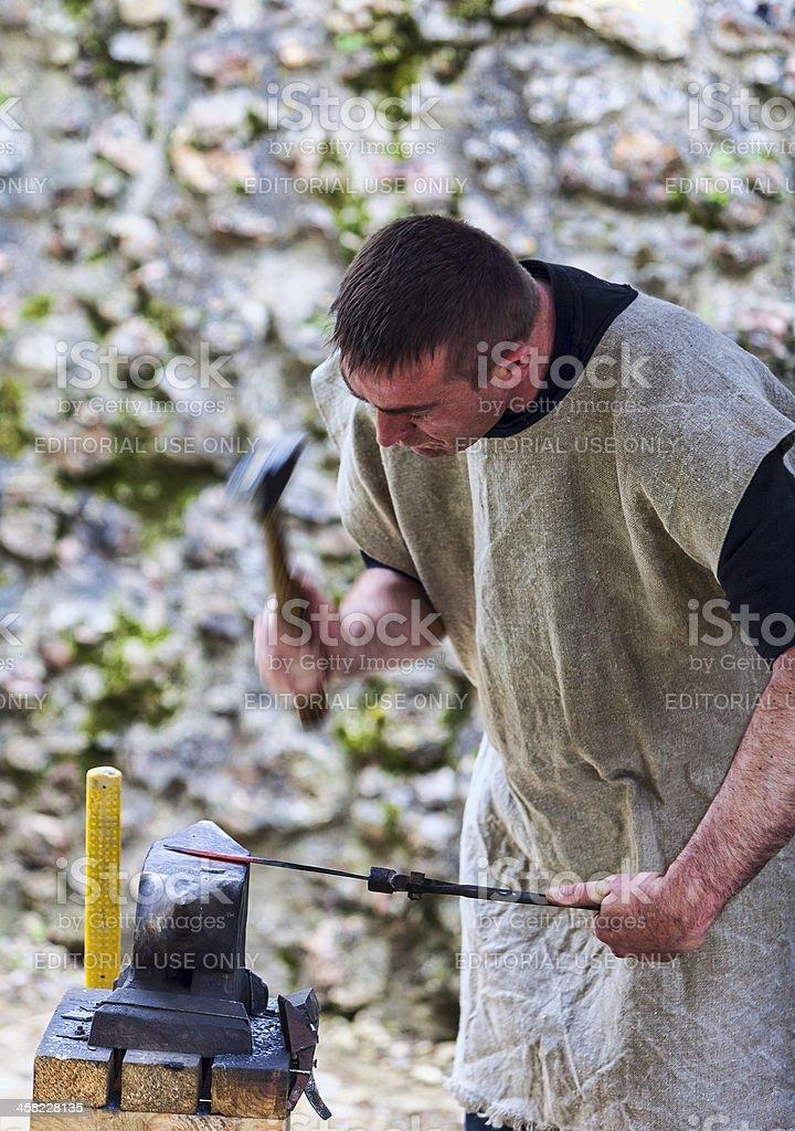 The Blacksmith stock photo