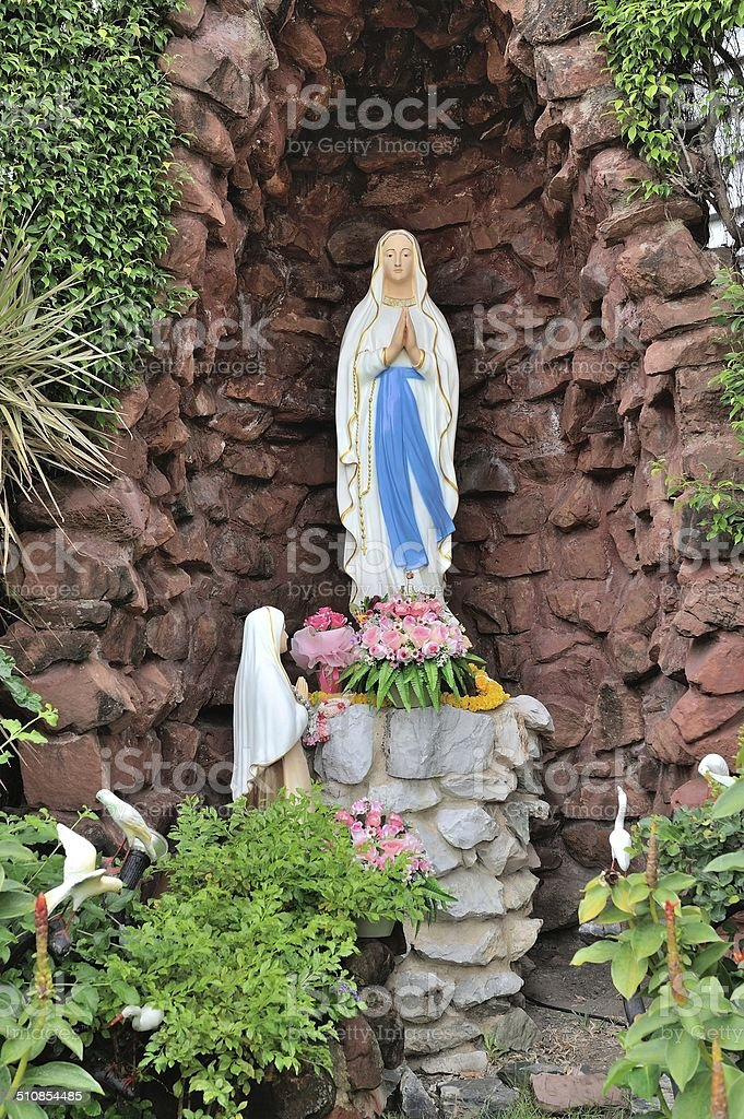 The Blessed Virgin Marry. stock photo