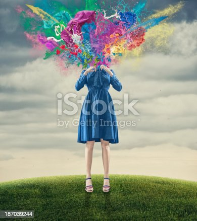 istock the blown-up head 187039244