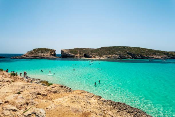 Die blaue Lagune, Comino, Malta – Foto