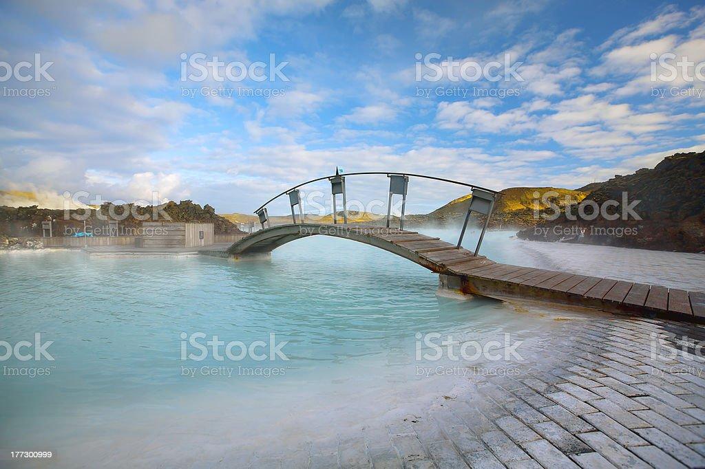The Blue Lagoon royalty-free stock photo