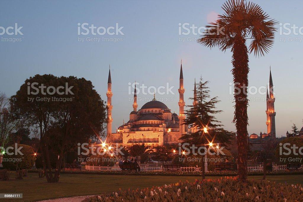 La Mezquita Azul, Estambul foto de stock libre de derechos