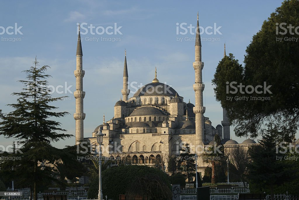 Die Blaue Moschee, Istanbul – Foto