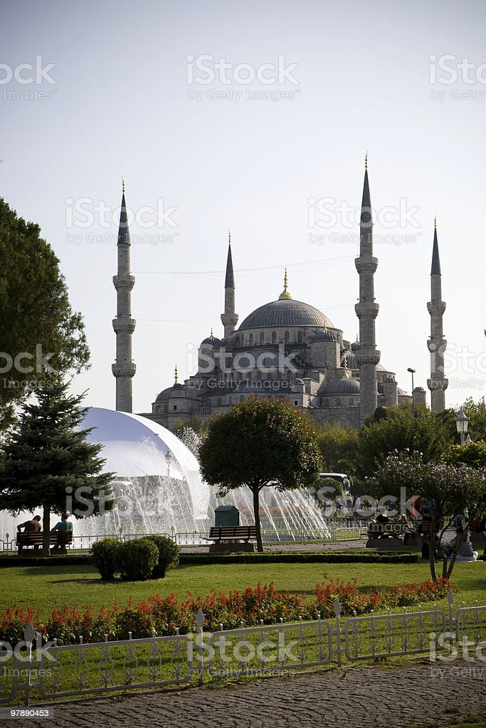 The Blue Mosque, Istanbul royalty-free stock photo