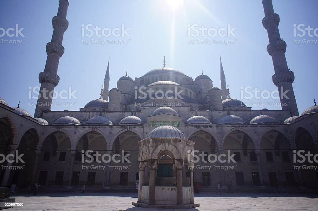 The Blue Mosque Istanbul Turkey stock photo