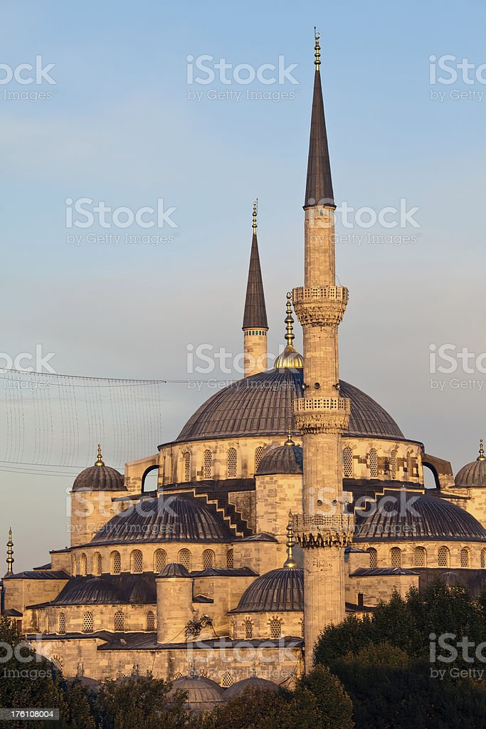 The Blue Mosque royalty-free stock photo