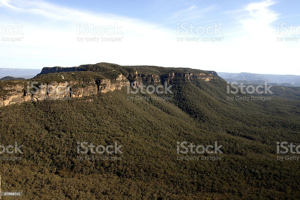 The Blue Mountains, Australia. royalty-free stock photo