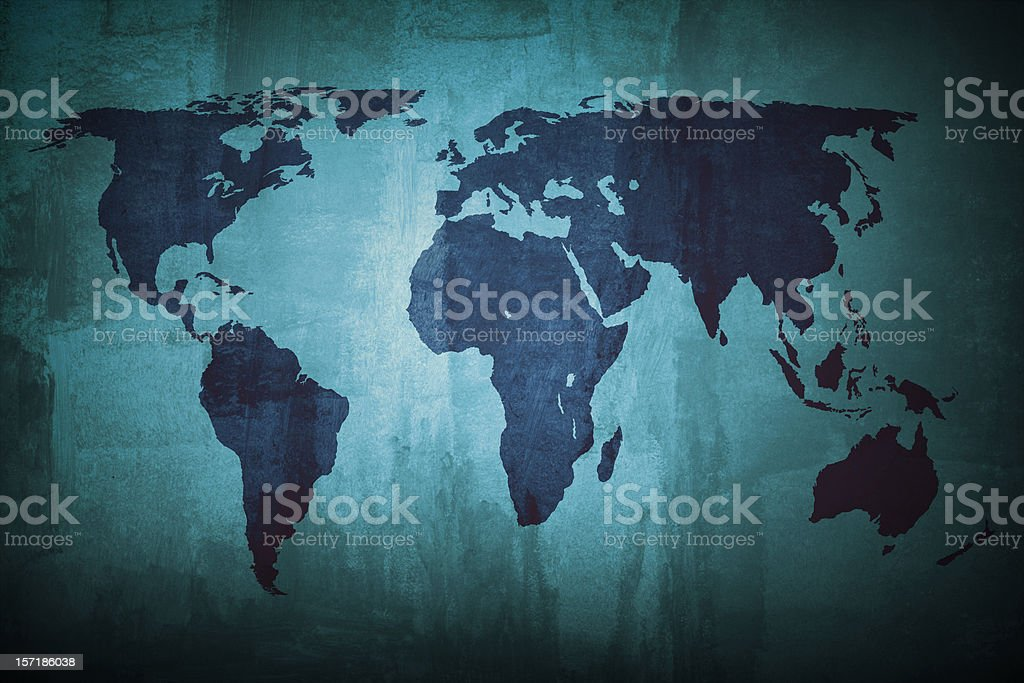 The blue planet stock photo