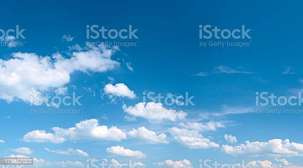 Photo of The blue sky panorama 43MPix - XXXXL size