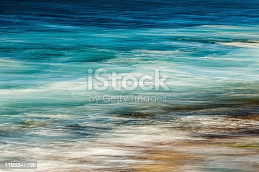 istock The blue waves 1183347798