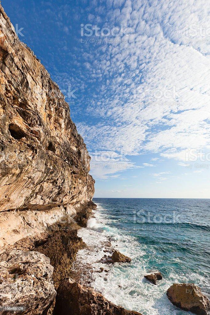The Bluff, Cayman Brac royalty-free stock photo