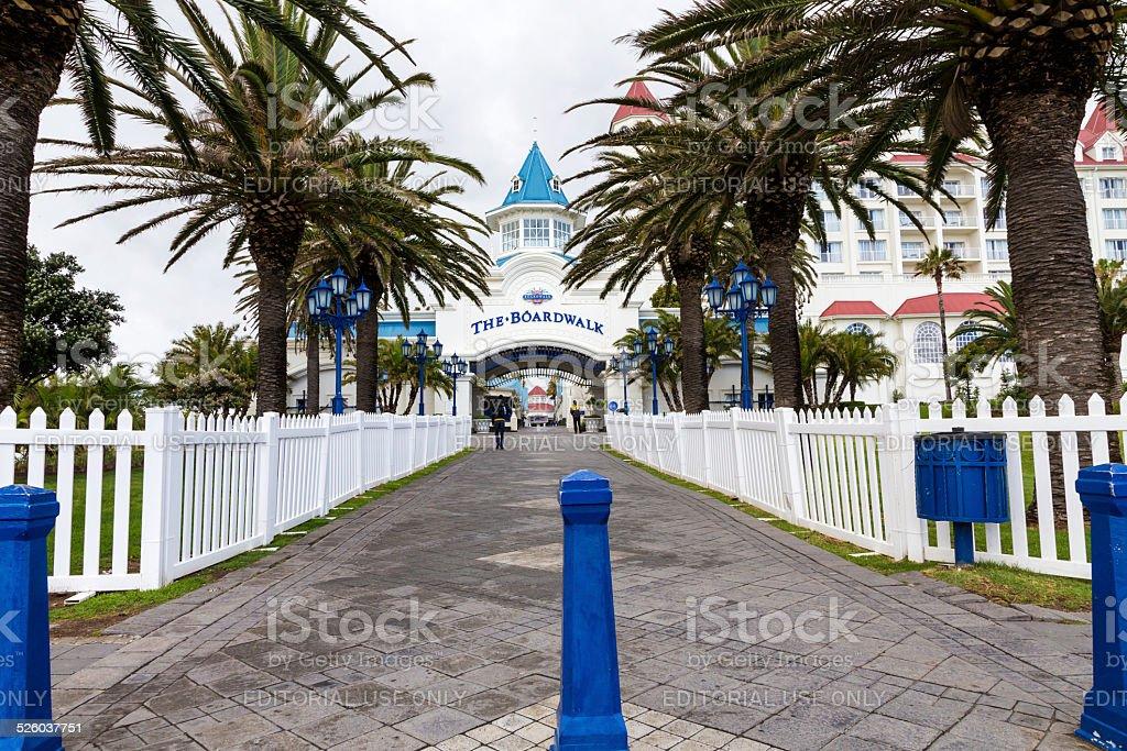 The Boardwalk, a waterfront in Port Elizabeth stock photo