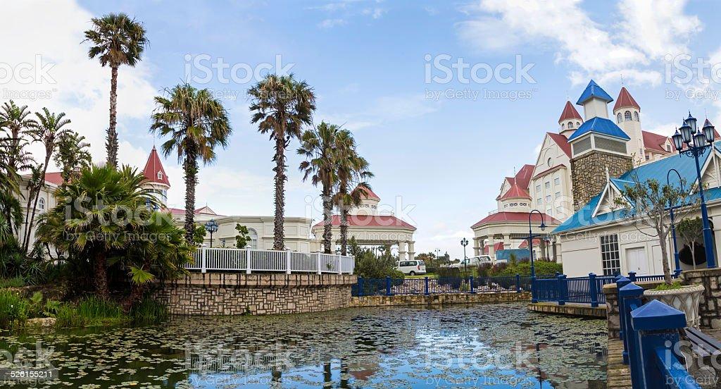 The Boardwalk in Port Elizabeth, South Africa stock photo