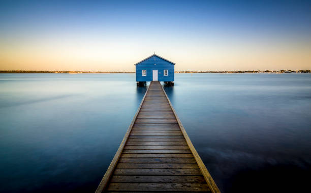 The Boatshed, Perth stock photo