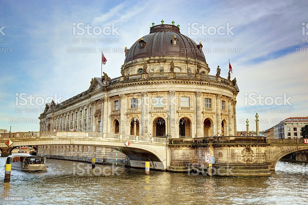 The Bode Museum, Berlin, Germany stock photo