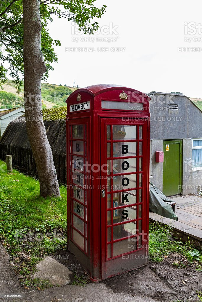 The book booth stock photo