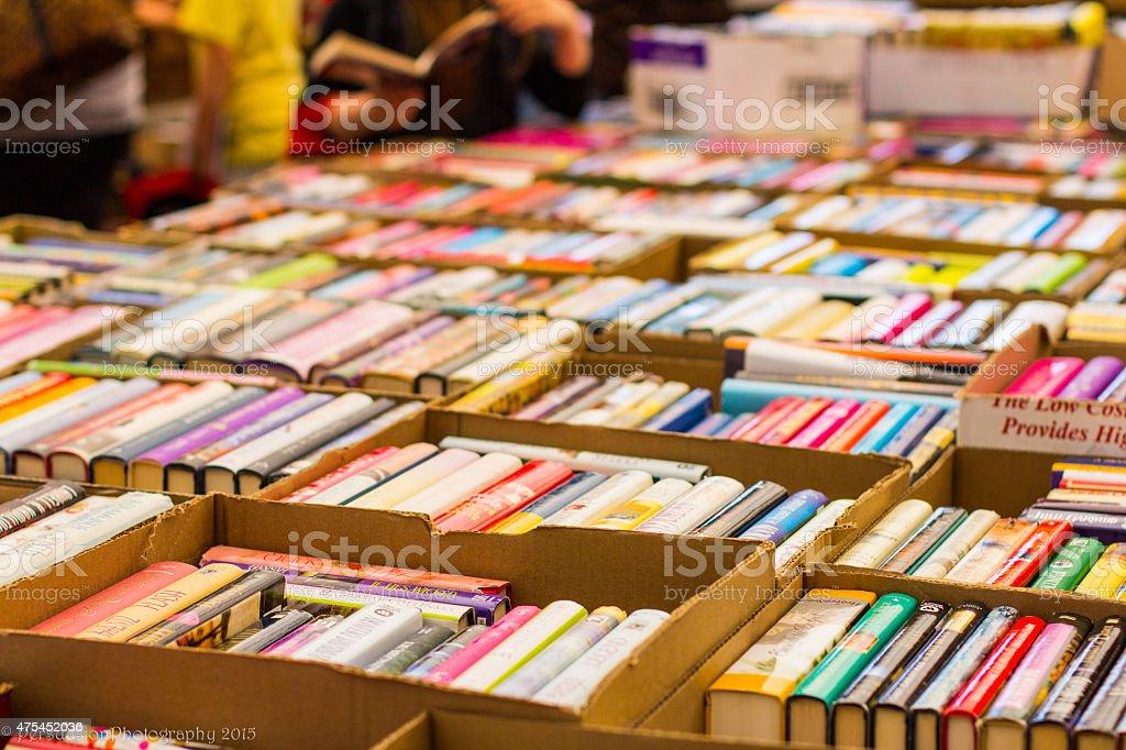 The Book fair stock photo