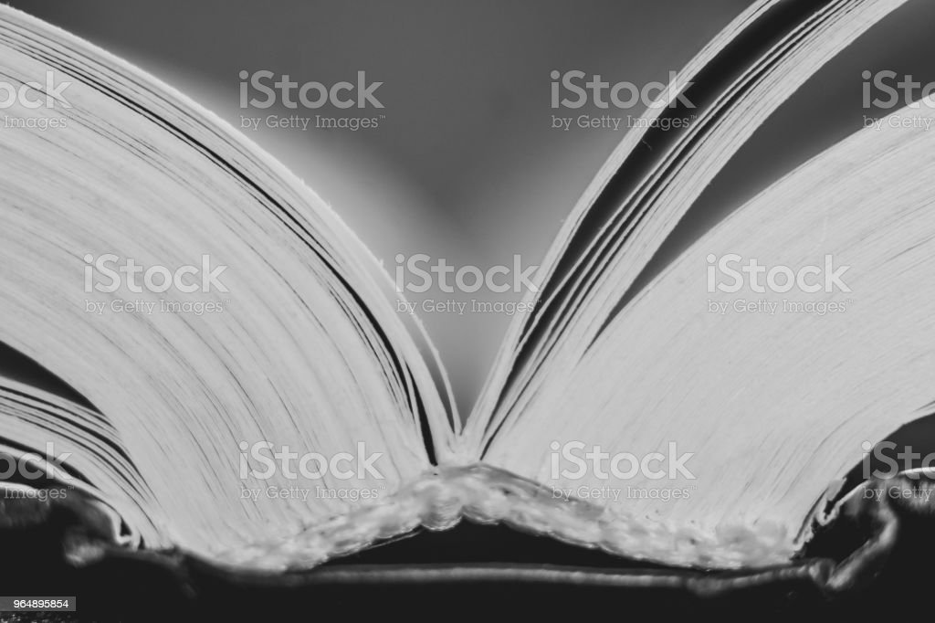 the book is large royalty-free stock photo
