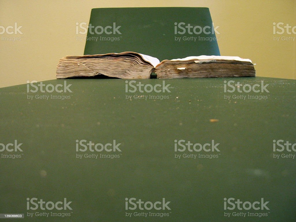 the book is the answer royalty-free stock photo