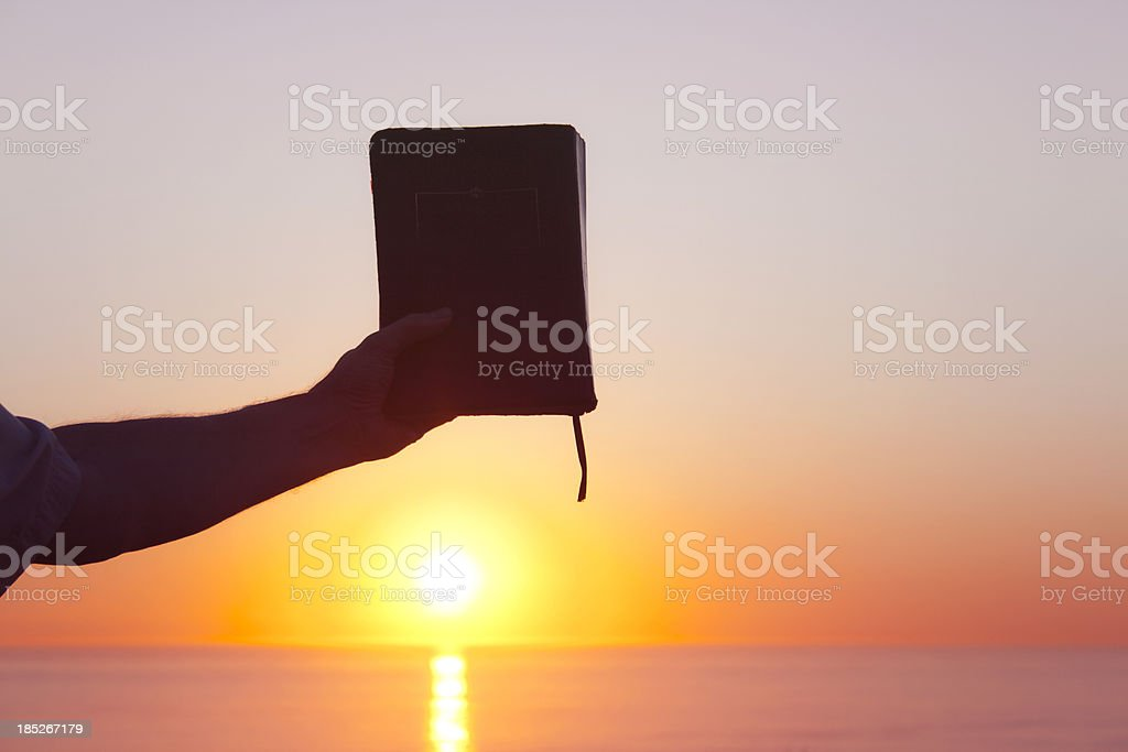 The Book of Knowledge stock photo