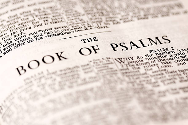das buch der psalm - psalm stock-fotos und bilder