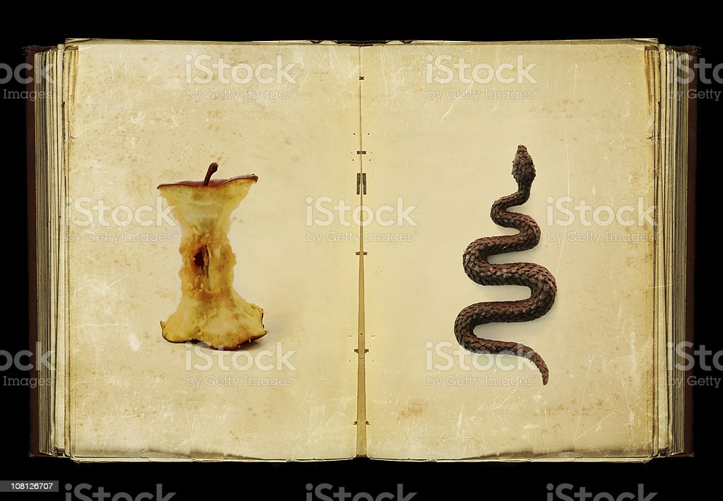 the book of sins stock photo