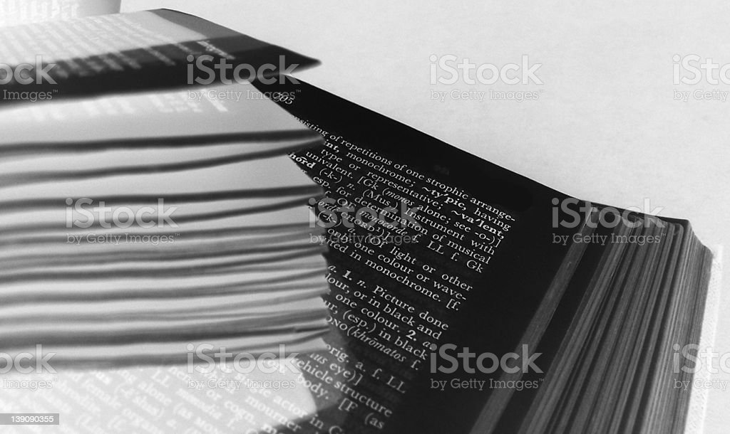 The Book stock photo
