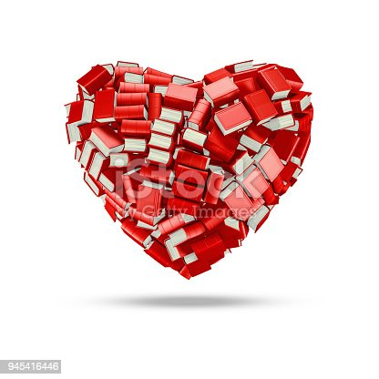 istock The bookish heart 945416446