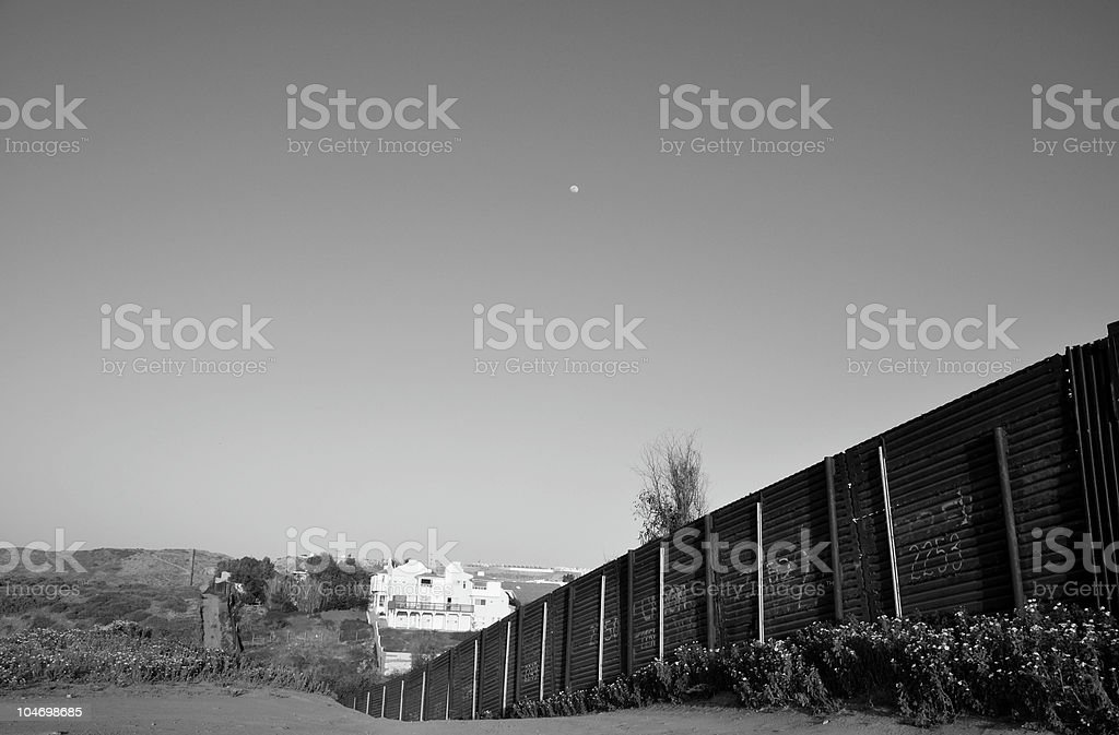 The Border royalty-free stock photo